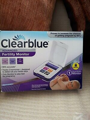 Advanced Clearview Fertility Monitor.Absolute  bargain.