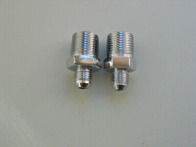 """Lowrider Hydraulics 1//2/""""m to 1//2/""""m straights two pack"""