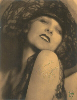 Dorothy Revier - Autographed Inscribed Photograph 1928 With Co-Signers