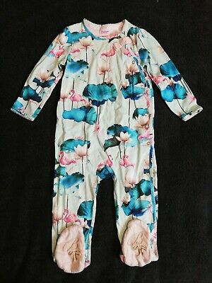 Girls Ted Baker Sleepsuit/ Baby Grow 12-18 Months