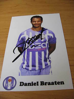 Daniel Braaten - Norway - FC Toulouse - SIGNED PHOTO - it