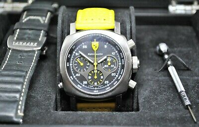 Panerai Ferrari Rattrapante chronograph gents watch limited to one of 500 Model