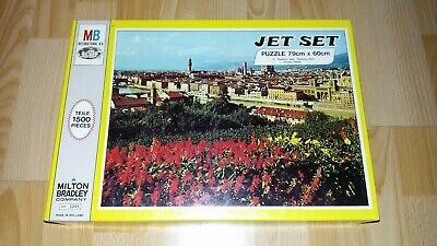 Jet Set Puzzle 1500 Teile MB International Florenz Italien Florence Italy 1971