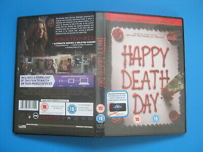 HAPPY DEATH DAY (2017) Jessica Rothe - TEEN HORROR - DVD