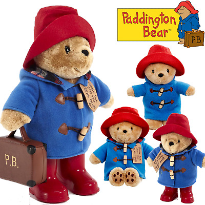 Paddington Bear Soft Toys Plush Teddy Collection For Baby Shower Toddler Gift