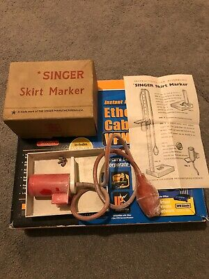 Vintage  SINGER SKIRT MARKER  - Boxed with Instructions