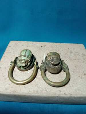 Pharaonic rings are very rare. Two pieces