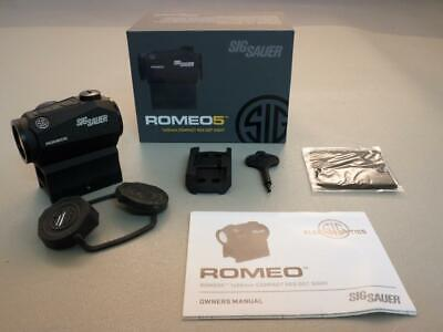 Sig Sauer Romeo5 Compact 2 Moa Red Sight Compact Red Dot Laser, in Box