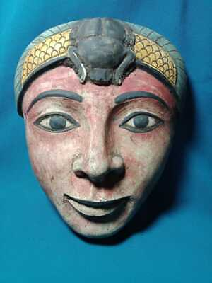 The face of a beautiful Pharaonic princess, a rare piece