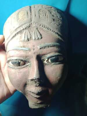 The face of the beautiful Nubian princess of Nubia civilization..