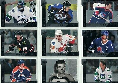 2009-10 Black Diamond HORIZONTAL DIE CUT Variations  You Pick to Finish Your Set