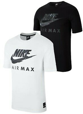 New Nike NSW Air Max Mens Cotton T Shirt Sports Gym Jersey Tee Size S M L XL
