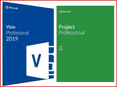 Visio/Project Professional 2019 Lifetime Activation Code + Download Link Instant