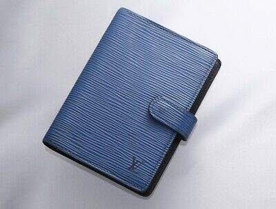 H7706M Authentic Louis Vuitton Epi Agenda Notebook Cover PM