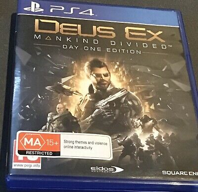 Deus Ex Mankind Divided - Day One Edition - PS4 Game - Free Post