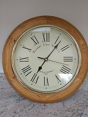 Towchester Clock Works Co Westminster-Whittington chime wall clock