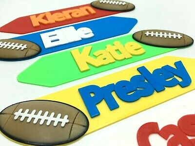 unique gift Kids Personalised bookmark Personalised football bookmark