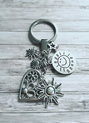 YOU ARE MY SUNSHINE Keyring BFF Birthday Keychain Gifts Presents /& Pillow Box