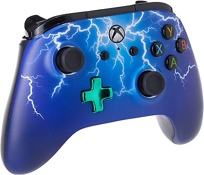 PowerA Enhanced Wired Controller for Xbox One - Spider Lightning - Xbox One