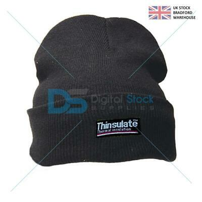 Performance Pro Climate Black Beanie Hat With Thinsulate Lining