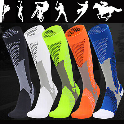 AU Compression Socks Copper Medical Stockings Travel Running Anti Fatigue Unisex