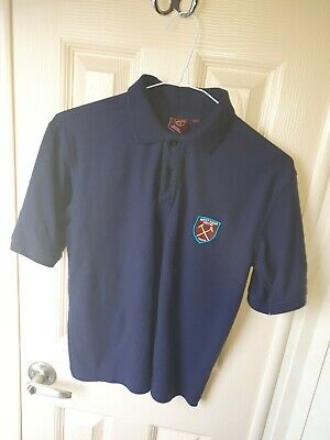 Boys West ham polo shirt Age 11-12 worn once only