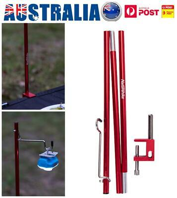 Telescoping Tarp Poles Set Light Rods Adjustable For Camping Backpacking Hiking