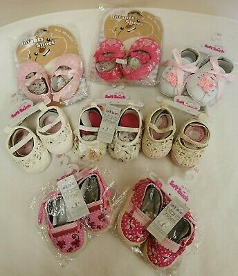 Job Lot Of Baby Shoes Various sizes Brand New With Tags (D5)