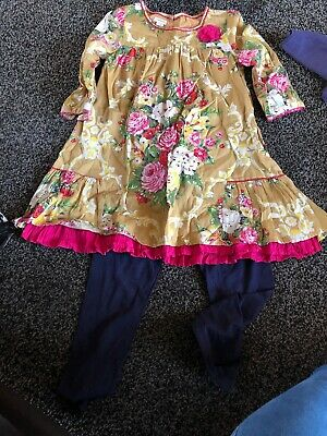 Girls 2 Piece Outfit Age 10 Years From Monsoon