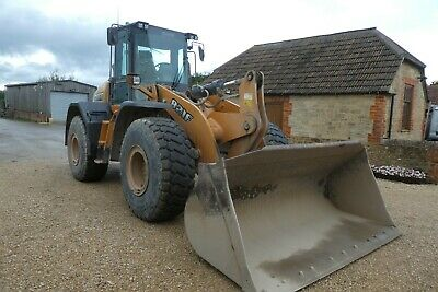 Case 821F Wheeled Loader Year 2015 One Owner Done 10018 Hours Good Tyres