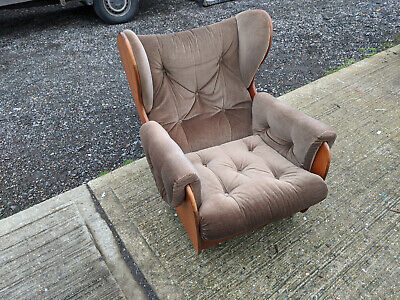 mid century G plan by E Gomme wing armchair TC170120A