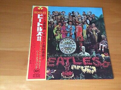 Lp The Beatles Sgt. Pepper's Lonely Hearts Club Band Japan Obi
