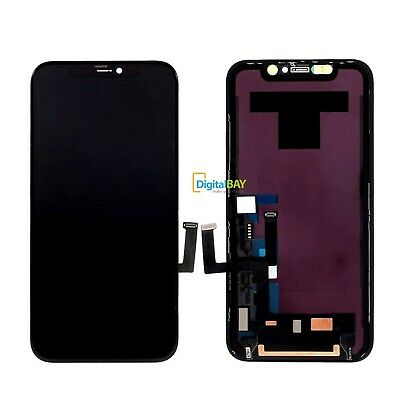 Ricambio Lcd Display Schermo Frame Screen Touch Nero Per Apple iPhone 11