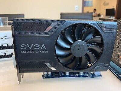 Used EVGA NVIDIA GeForce GTX 1060 6 GB GDDR5 Graphics Card (06G-P4-6161-KR)