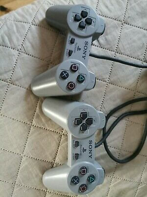 Official Genuine Grey Sony Ps1 Playstation Psone Controller Control Pad