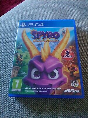 Spyro Reignited Trilogy (Sony PlayStation 4, 2018) USED