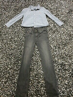 Ralph Lauren Longsleeves And Jeans By Polo RALPH LAUREN AGE 7-8