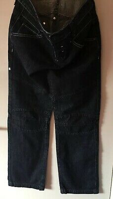 Boys Mckenzie Denim Dark Blue Button Fly  Jeans Size LB