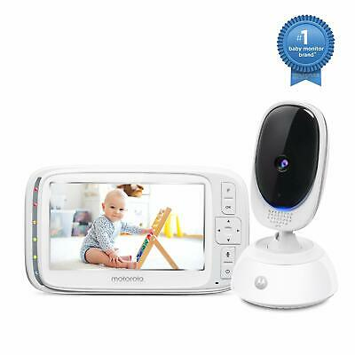 Motorola Comfort75 Video Baby Monitor - Infant Wireless Camera with Remote Pa...