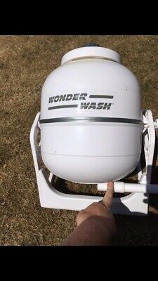 Brunner Wonder Wash Camping/Portable/Manual Washing Machine Hand Powered OffGrid