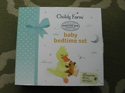 Childs Farm Baby Bedtime Set Baby Bedtime Bubbles Baby Wash Baby Moisturiser