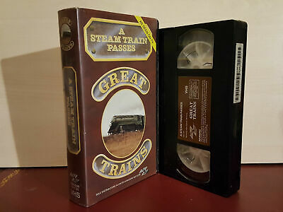 A Steam Train Passes - Great Trains - PAL VHS Video Tape (T42)