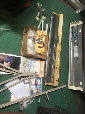 SInger 360K Memo-Matic Knitting Machine With Accessories