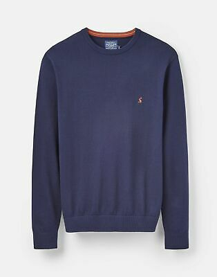 Joules 206972 Crew Neck Jumper in FRENCH NAVY Size L