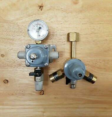 Primary Co2 Gas Regulator With Secondary Gas Regulator,  Man Cave Home Bar