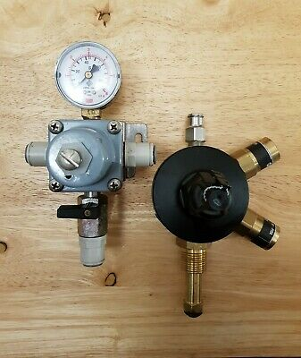 Primary Mixed Gas Regulator With Secondary Gas Regulator,  Man Cave Home Bar