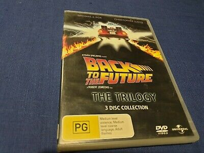 Back To The Future Trilogy - DVD - Region 2 & 4