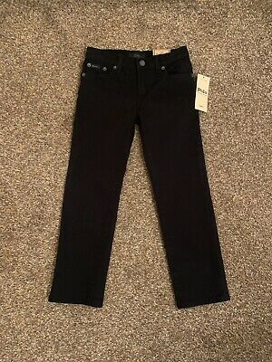 Boys Polo Ralph Lauren Jeans, Age 5 Years, Black, Brand New With Tags