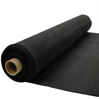 8.5' 60 MIL EPDM Black Rubber RV Camper Roofing (Sold By the Foot)
