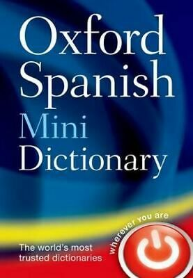 NEW Oxford Spanish Mini Dictionary By  Oxford Languages Paperback Free Shipping